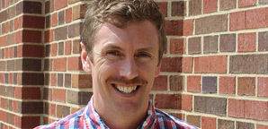 Dr. Patrick Swaney, Assistant Professor of English and Writer-in-Residence at Catawba College
