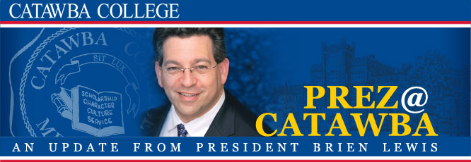 Prez@Catawba - Update from President Brien Lewis