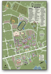New Catawba College Campus Map