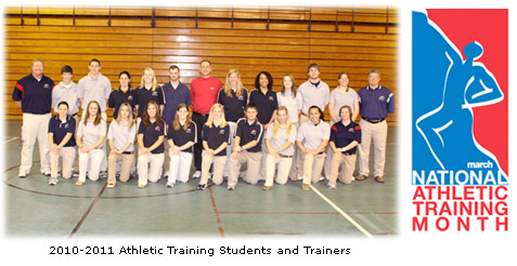 10-11 Athletic Trainers and Students