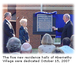 Abernethy Village Dedication