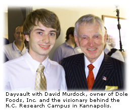 Ryan Dayvault with David Murdock