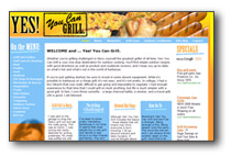 Yes You Can Grill Website