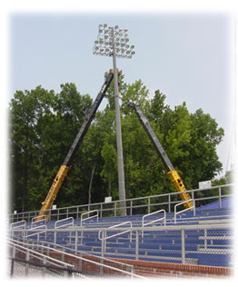 Shuford Stadium Lights