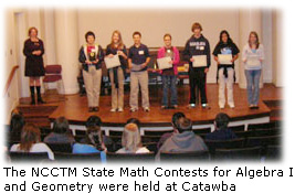 NCCTM Math Contests
