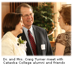 Salisbury and Catawba Community members meet Dr. and Mrs. Turner