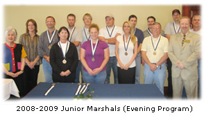 SEGS Junior Marshals 08-09