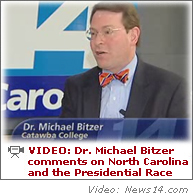Dr. Michael Bitzer Comments on News 14 Carolina
